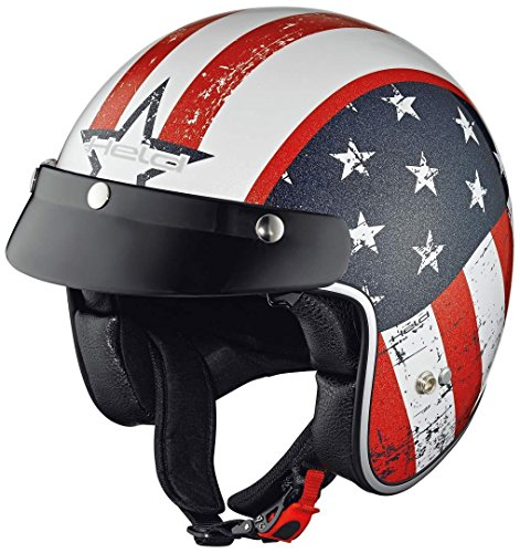 Held Helmet Bob Design White S