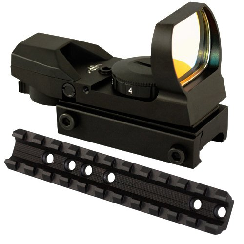 M1SURPLUS Optics Kit with Low Profile Scope Mount and Tactical Reflex Sight for Marlin Camp 9 40 45 Carbines 1894 1895 336 Rifles