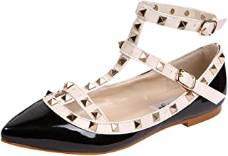 huge discount 628bc 62cc6 Amazon.it: scarpe con borchie - Ballerine / Scarpe da donna ...