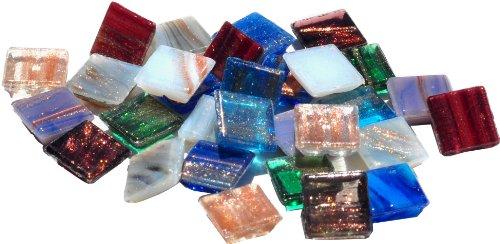 Mosaic Mercantile glazen tegels 0,5lb-metallic