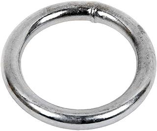 DOJA Industrial | Anillas Metalicas Soldadas | PACK 25 | 3 x 20 mm | Aros Redondos de Metal de Gran Calidad en el Punto de Soldado | Ideal para bolsos, cinturones, cortinas, mochilas, entre otros usos