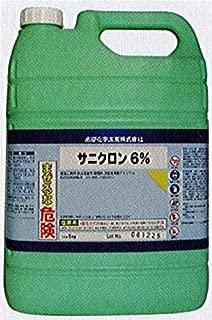 次亜塩素酸ナトリウム 6% 5kg 消毒液としても使える 約1000L分以上も使えてお得 殺菌除菌消毒用