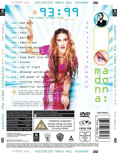 Madonna - The Video Collection 93-99 [DVD] [1999] [NTSC] [2003]