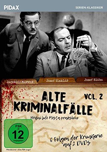 Alte Kriminalfälle, Vol. 2 (Hrísní lidé mesta prazského) / Weitere 6 Folgen der erfolgreichen Krimiserie (Pidax Serien-Klassiker) [2 DVDs]