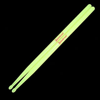 Drumsticks 5A Nylon for Drum Set Night light Plastic Cool...