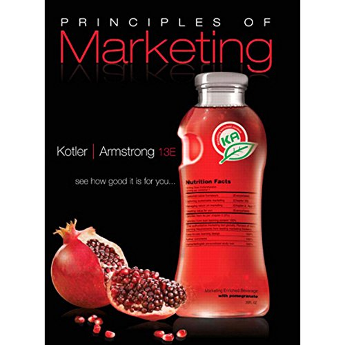 VangoNotes for Principles of Marketing, 13/e cover art