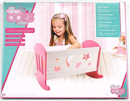 Speelgoed My Beautiful Dolls Room 551-0303. Cuna Mecedora pa