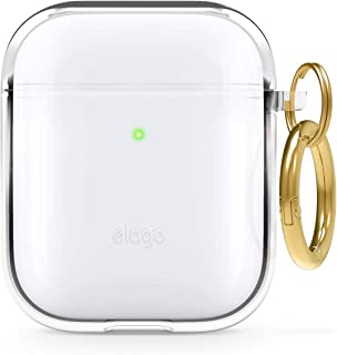 elago Funda TPU Clear Compatible con Apple AirPods 2&1 - Premium TPU, Reduce Amarilleo, Libre de Mancha, Soporte la Carga ...