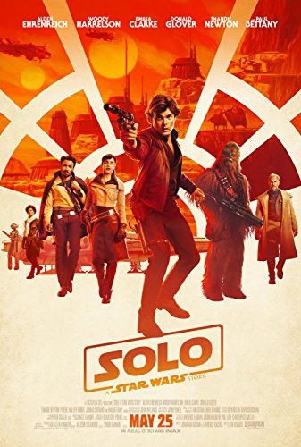 Solo A Star Wars Story Original Double Sided Rolled 27x40 Movie Poster 2018