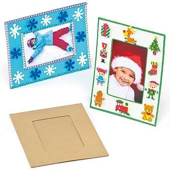 Marcos de fotos para manualidades que los niños pueden decorar y ...