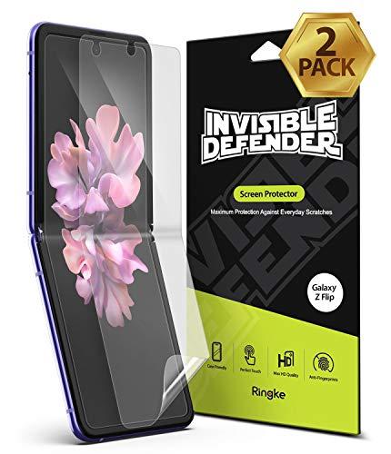 Ringke Invisible Defender Volle Abdeckung (2er-Pack) für Galaxy Z Flip (2020) Bildschirmschutzfolie