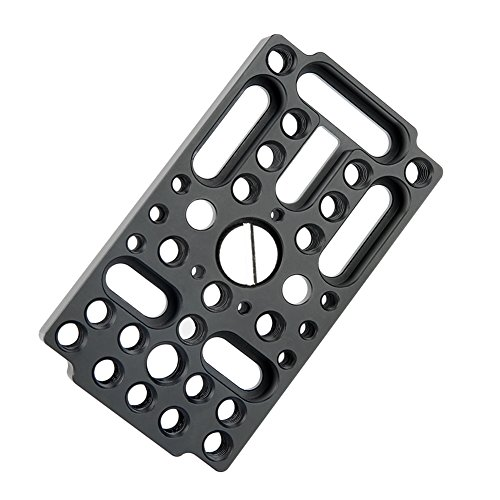 NICEYRIG Switching Plate Camera Cheese Easy Plate for Railblocks Dovetails Short Rods