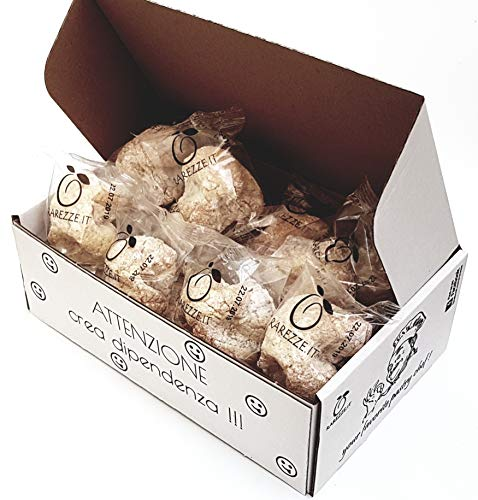 Feingebäck aus mandelpaste handgefertigt in Sizilien von einer alten Konditorei, mit hochwertigen sizilianischen Mandeln, in Leckeres schatulle-Paket (400gr)