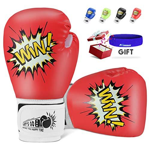 Teaisiy Spielzeug Mädchen 5 6 7 8 9 10 11 12 Jahre, Kleinkinder Boxhandschuhe Kickboxen Kinder ab 5-12 Jahre Weihnachts Geschenke für Mädchen 3-12 Jahre Spielzeug für Jungen 5-12 Jahre