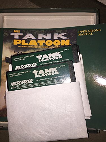 M1 Tank Platoon - Eurobox 5,25 Disk (PC) gebr.