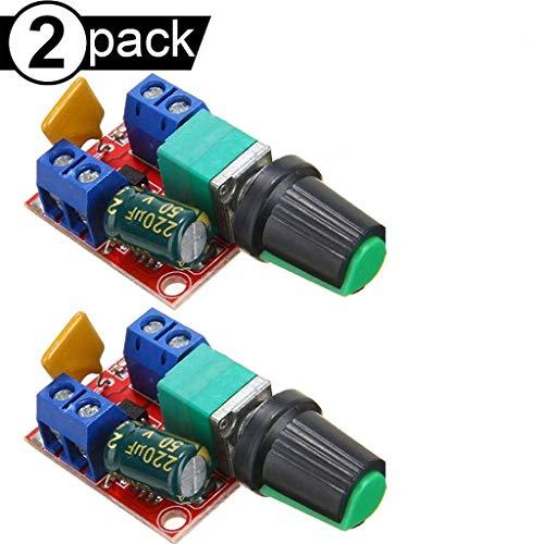 Mini DC Motor PWM Drehzahlregler 5A 4.5V-35V Drehzahlregelung Schalter Dim hy