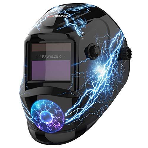 YESWELDER True Colour Solar Powered Auto Darkening Welding Helmet