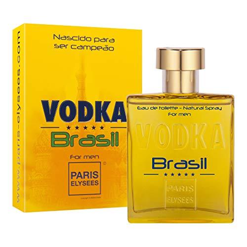 Eau de Toilette Vodka Brasil Yellow, Paris Elysees, 100 ml