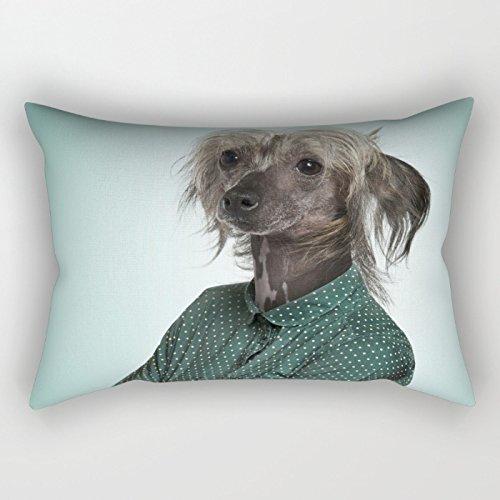 slimmingpiggy perros manta fundas de almohada de 16x 24pulgadas/40por 60cm regalo o decoración para salón, niños, boda, ropa de cama, familiares, cumpleaños–dos lados