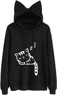 Amazon.co.uk: cat hoodie: Clothing