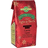 Door County Coffee, Holiday Flavored Coffee, Candy Cane Decaf, Peppermint Flavored Coffee, Medium Roast, Whole Bean Coffee, 8 oz Bag