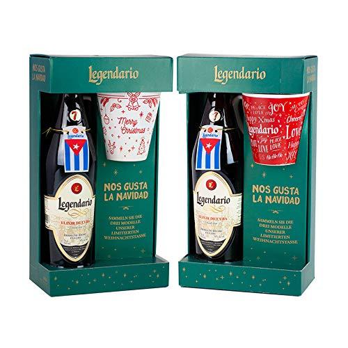 LEGENDARIO Elixir + Taza de Navidad Set de regalo - LEGENDARIO Elixir + Weihnachtsbecher Geschenkset