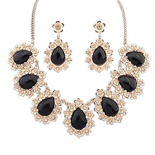 GYJUN Bijoux Colliers décoratifs / Boucles d'oreille / Quotidien / Décontracté Alliage / Résine 1set Femme , one size
