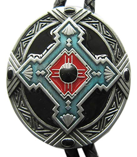 Vintage Southwest Celtic Cross Knot Oval Bolo Tie also Stock in US