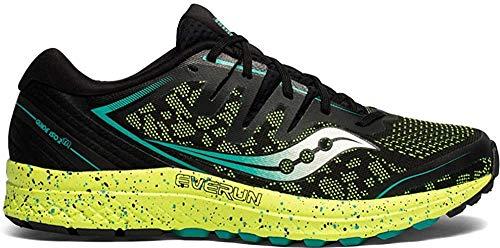 Saucony Guide ISO 2 TR, Zapatillas de Trail Running para Hombre, Negro (Negro 37), 44 EU
