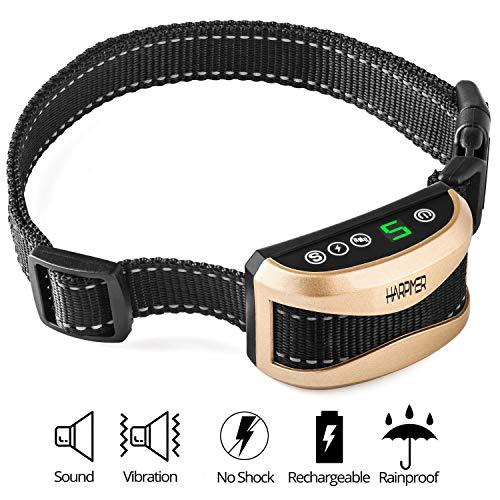 Novatech Anti-Bell-halsband, dressurhalsband, 2 bedrijfsmodi, pieptoon + vibratie, hondenhalsband, verstelbaar van 9 – 55 cm, ideaal voor kleine en middelgrote honden, 3 kg +