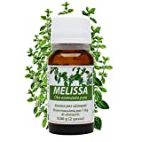 melissa olio essenziale puro 10 ml. nervosismo, ipertiroidismo