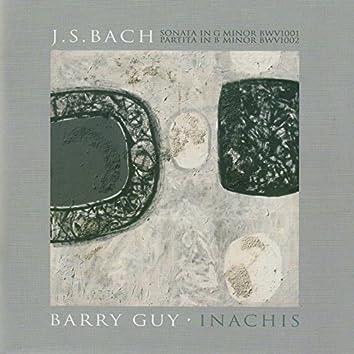 Bach: Violin Sonata No. 1 in G Minor, BWV 1001 & Violin Partita No. 1 in B Minor, BWV 1002 - Guy: Inachis