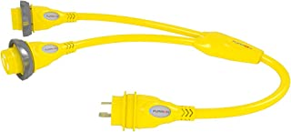 Furrion F3030Y-SY Yellow Y-Adapter 2X30A Connector to 30A Male