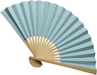 Tashioning Ventilador De Mano Estilo Chino Seda Plegable Decoración Boda Partido Abanicos Plegables Colores Surtidos Para Bodas Fiestas Clima Caluroso 10(K)