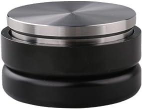 Omgogo Adjustable Coffee Distributor Leveler Tool Palm Tamper for Espresso 58mm Flat