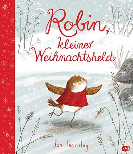 Robin, kleiner Weihnachtsheld: Cover mit Folienprägung