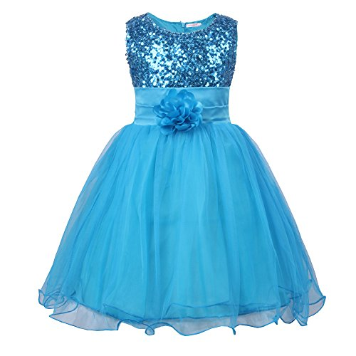 Vestido Azul Lentejuelas Marca JerrisApparel