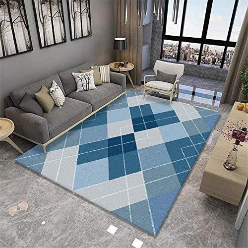 Decorar la habitacion del Bebe Dormitorio para niños Dormitorio Alfombra Azul Corta Flexible alfombras Infantiles niña alfombras Exterior 180x250cm 5ft 10.9' X8ft 2.4'