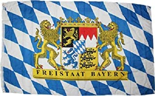 Trade Winds 3x5 Bavaria Bavarian Freistaat Friestaat Flag Rough Tex Knitted 3'x5' Banner Premium Fade Resistant