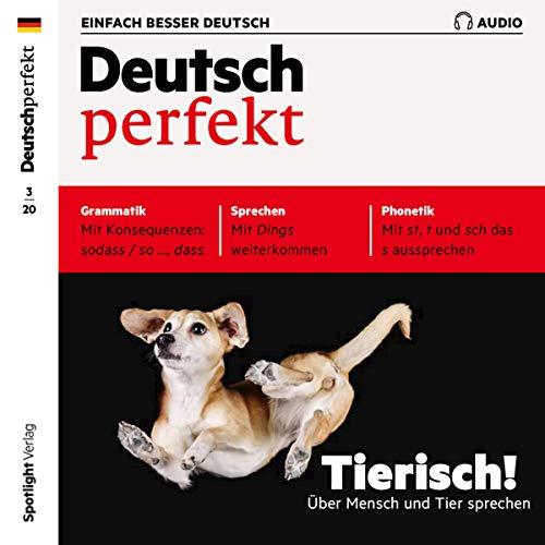 Deutsch perfekt Audio 3/2020 cover art