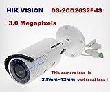 Sangdo DS 2CD2632F Is Poe 3MP IP66 Network 2 8 12mm VF IR Audio Bullet Camera