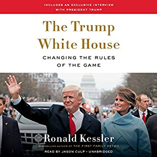 The Trump White House audiobook cover art