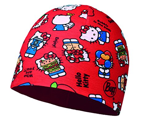 Buff BH113207.425.10.00 BH Micro Polar Hello Kitty Jr Foodie Red Unisex-Adult, Rojo, Taille Unique