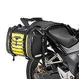 ROCKBROS Motorcycle Saddle Bags Motorcycles Saddlebags Waterproof 60L for Honda Yamaha Suzuki Removable Side Bag Pack Detachable Bag (2 PCS)