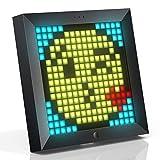 Divoom Pixoo Pixel Art Digitaler Bilderrahmen, Programmierbares 16*16 RGB LED Panel, Smart Clock mit...
