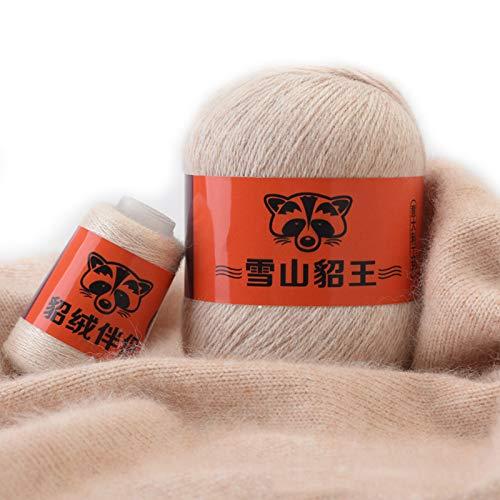 50 g + 20 g Kaschmirgarn Anti-Pilling Handstrickgarn Garn für Kleidung Strickjacke