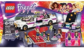 265 Pieces LEGO Friends Pop Star Limo Model#41107 by LEGO