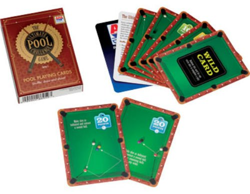 Ultimate Pool Challenge Card Game