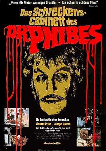 Das Schreckenskabinett des Dr. Phibes (1971)   original Filmplakat, Poster [Din A1, 59 x 84 cm]
