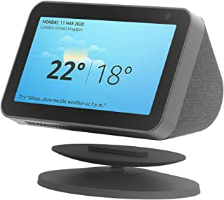 Winmany Adjustable Stand Magnetic Holder for Echo Show 8 and Echo Show 5 ,360 Degree Rotation Echo Spot Mount Table Holder...